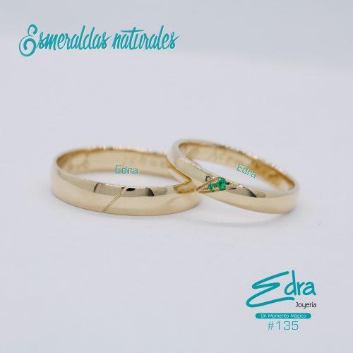#135 oro y esmeraldas