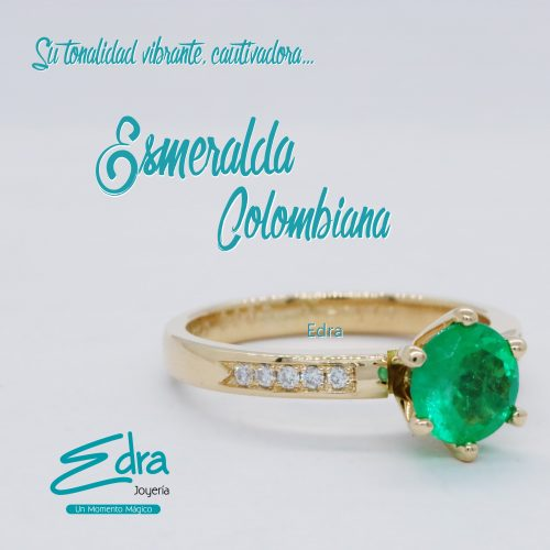 PORTADA ANILLO CLASICO ESMERALDA